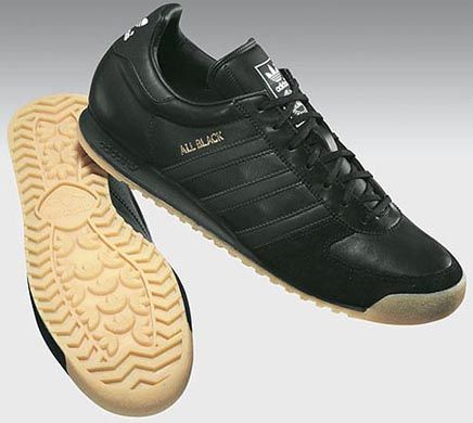 adidas all black trainers